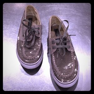 Sperry Top-Sider Bahama Pewter boat shoes